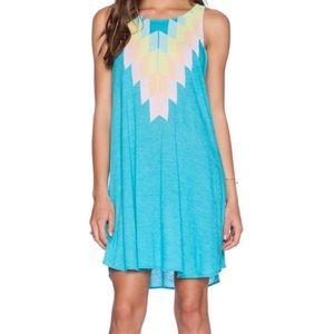 Wildfox Blue Dress - Size Medium